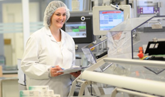 Hightech in der Pharmaproduktion
